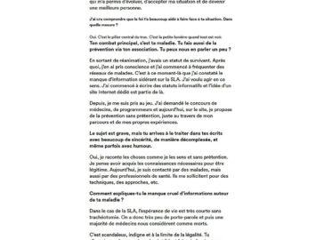 KONBINI : Pone de la légendaire Fonky Family au combat contre la maladie de Charcot